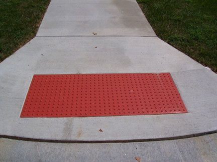 Brick Red Access Tile