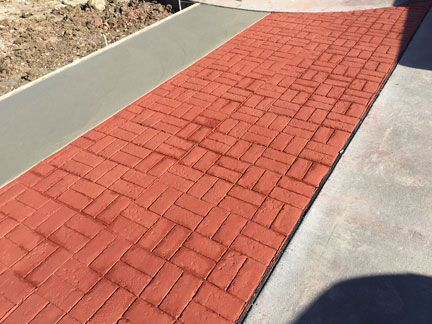 Basket Weave Used Brick