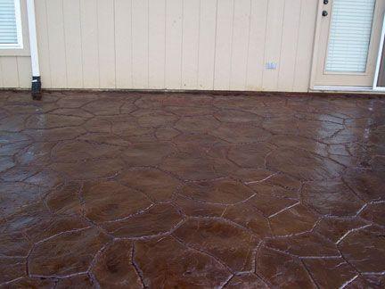 Acid Stained Concrete Floor Sealer